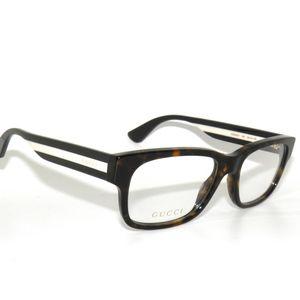 8226d82aee4 Gucci Accessories - Gucci 0343O 005 55 Avana Multicolor Eyeglasses